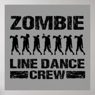 Zombie Line Dance Crew Poster