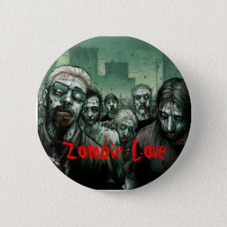 Zombie Love 2 Inch Round Button