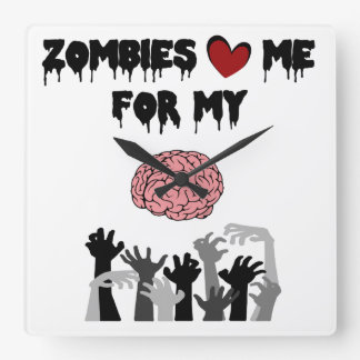 Zombie Love Clocks
