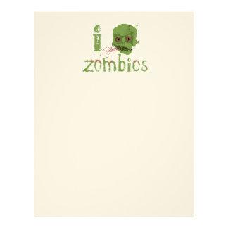 Zombie Love Letterhead