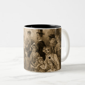 Zombie Luncheon of the Boating Party Wraparound Two-Tone Coffee Mug