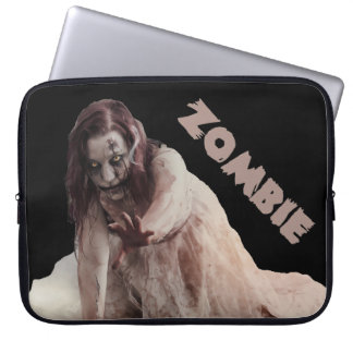 Zombie married laptop sleeve