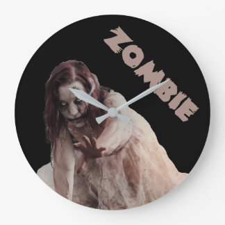 Zombie married large clock