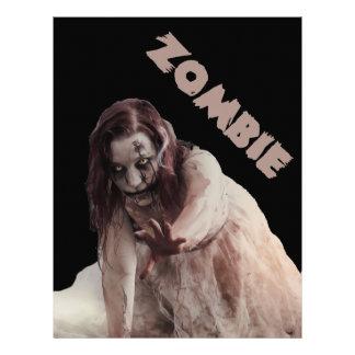 Zombie married letterhead