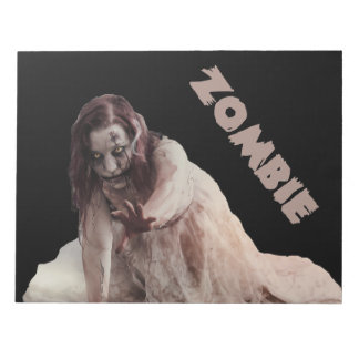Zombie married notepad