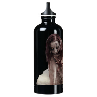 Zombie married water bottle