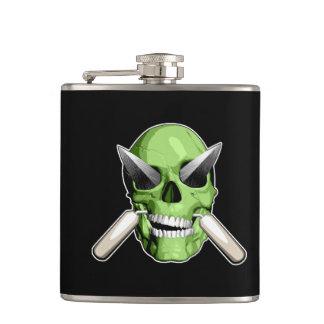 Zombie Mason Hip Flask