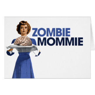 Zombie Mommie Note Card