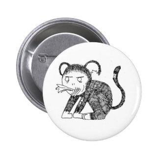 Zombie Monkey Hungry Button