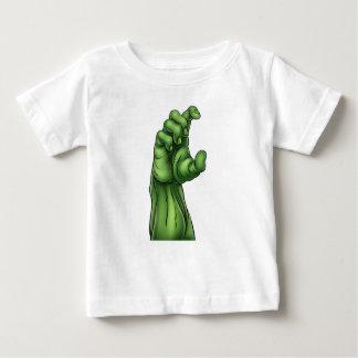 Zombie Monster Halloween Hand Baby T-Shirt