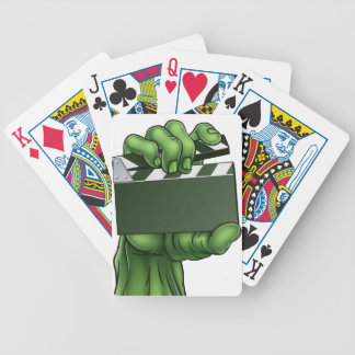 Zombie Monster Halloween Hand Bicycle Playing Cards