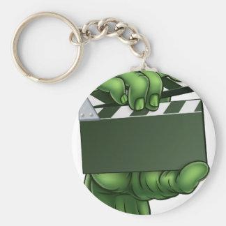Zombie Monster Halloween Hand Keychain