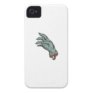 Zombie Monster Hand Drawing iPhone 4 Covers
