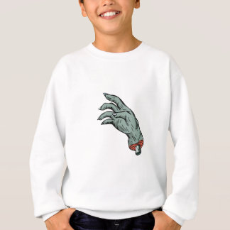 Zombie Monster Hand Drawing Sweatshirt
