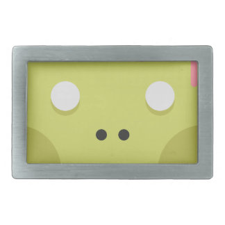 Zombie Monster Head Rectangular Belt Buckle