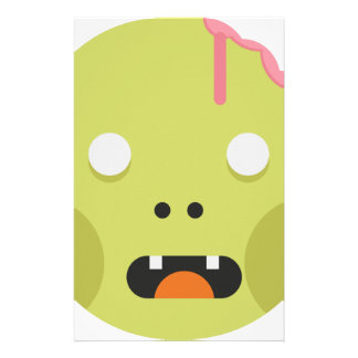 Zombie Monster Head Stationery