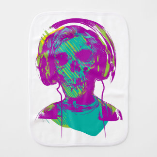 Zombie Music Burp Cloth