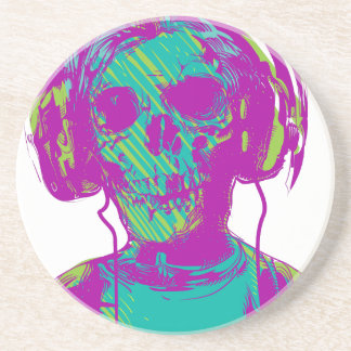 Zombie Music Coaster