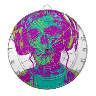 Zombie Music Dartboard