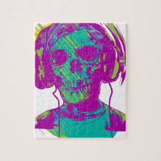 Zombie Music Jigsaw Puzzle