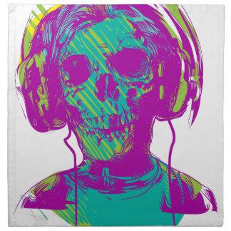 Zombie Music Napkin