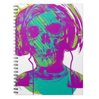 Zombie Music Notebooks