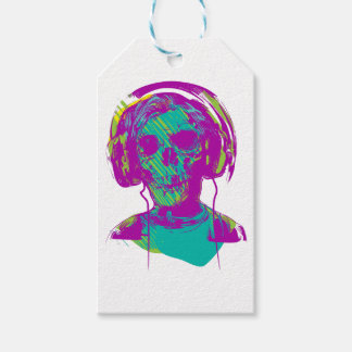 Zombie Music Pack Of Gift Tags
