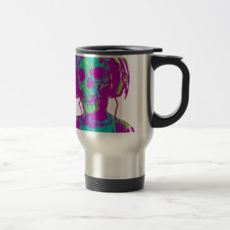 Zombie Music Travel Mug
