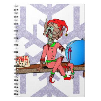 Zombie on a Shelf Note Book