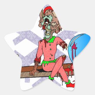 Zombie on a Shelf Sticker