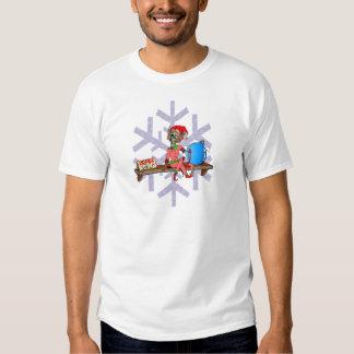 Zombie on a Shelf Tshirt