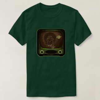 Zombie On TV - 2 T-Shirt