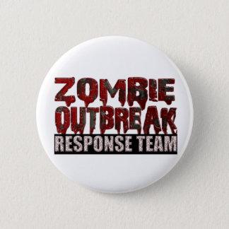 Zombie Outbreak Response Team 2 Inch Round Button