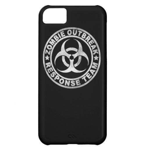 zombie outbreak response team bio hazard walking d iPhone 5C case