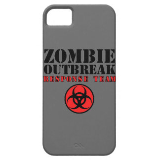 zombie outbreak response team bio hazard walking d iPhone 5 case