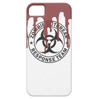 zombie outbreak response team bio hazard walking d iPhone 5 cases