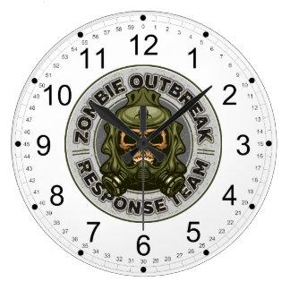 Zombie Outbreak Response Team Clock