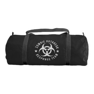 Zombie Outbreak Response Team Gym Bag