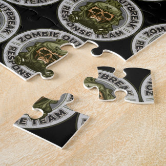 Zombie Outbreak Response Team Jigsaw Puzzle