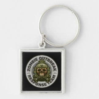 Zombie Outbreak Response Team Keychain
