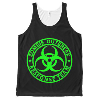 Zombie Outbreak Response Team Neon Green