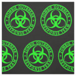 Zombie Outbreak Response Team Neon Green Fabric