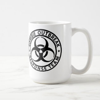 Zombie Outbreak Response Team Survival Mug