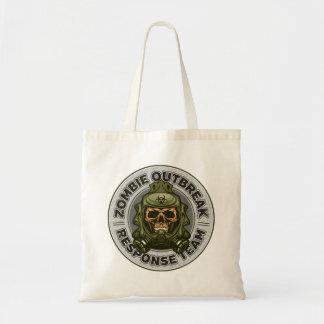 Zombie Outbreak Response Team Tote Bag