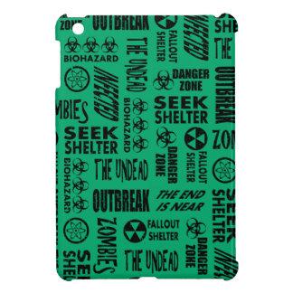 Zombie, Outbreak, Undead, Biohazard Black & Jade Case For The iPad Mini