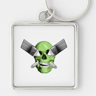 Zombie Painter Keychains