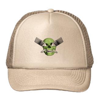 Zombie Painter Trucker Hats