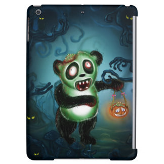 Zombie Panda Halloween Forest Case For iPad Air
