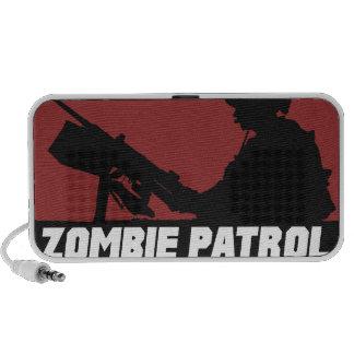Zombie Patrol - On the Gun Doodle Speaker