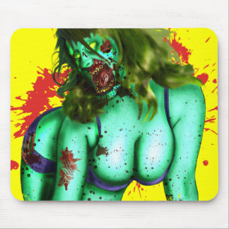 Zombie Pin-up Mousepad